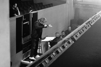 Assisting Stephen Barlow, Grange Park Opera '18